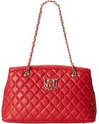 Love Moschino shoulder bags - Lyst