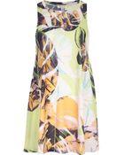 River Island Green Palm Leaf Print Swing Tank Dress - Lyst