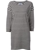 Just Female Striped T-Shirt Dress - Lyst