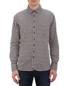 Rag & Bone Plaid Shirt - Lyst