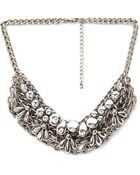 Forever 21 Petal  Chain Statement Necklace - Lyst