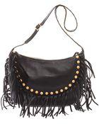 Valentino Gryphondetail Leather Shoulder Bag - Lyst