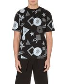 Black Scale Paradox Cotton-Jersey T-Shirt - For Men - Lyst