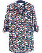 Diane von Furstenberg Lorelei Two Printed Stretch Silk Shirt - Lyst