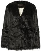 By Malene Birger Zannaz Faux Fur Coat - Lyst