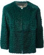 Etro Leopard Pattern Jacket - Lyst