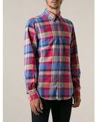 Polo Ralph Lauren Slim Fit Plaid Shirt - Lyst
