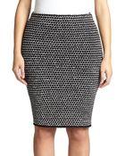 Stizzoli Textured Tweed Pencil Skirt - Lyst
