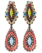 Erickson Beamon ''Kumbaya' Crystal Drop Earrings - Lyst