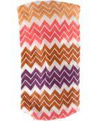 Missoni Zigzag Multicoloured Headband - Lyst