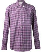 Brunello Cucinelli Plaid Shirt - Lyst