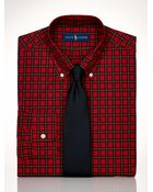 Polo Ralph Lauren Custom-Fit Tartan Dress Shirt - Lyst