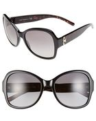 Tory Burch 58Mm Butterfly Sunglasses - Lyst