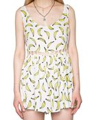 Pixie Market It'S Bananas Playsuit - Lyst