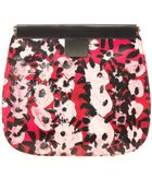 Marni François-Xavier Pvc And Leather Clutch - Lyst