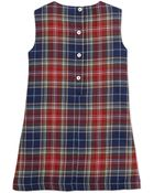 Oscar de la Renta Plaid A-Line Pocket Dress - Lyst