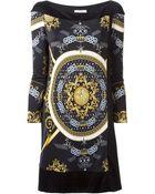 Versace Printed Dress - Lyst