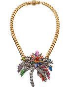 Shourouk Necklace - Lyst