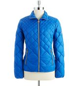 MICHAEL Michael Kors Quilted Packable Jacket - Lyst