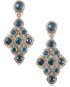 Konstantino London Blue Topaz Cascade Earrings - Lyst