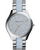 Michael Kors Slim Runway Watch, 42Mm - Lyst