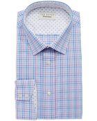 Ted Baker Plaid Dress Shirt - Lyst