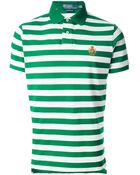 Polo Ralph Lauren Striped Polo Shirt - Lyst