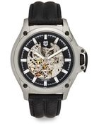 Andrew Marc Automatic Skeleton Dial Watch - Lyst
