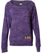 Nike Women'S Long-Sleeve Lsu Tigers Warm Epic Crew T-Shirt - Lyst