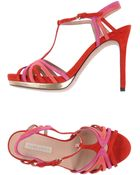 Pura Lopez Sandals - Lyst