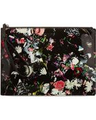 McQ by Alexander McQueen Festival Floral Flat Clutch - Festival Floral - Lyst