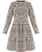 Giambattista Valli Monocrome Coat Dress - Lyst