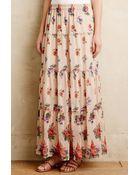 Love Sam Wildflower Fields Maxi Skirt - Lyst
