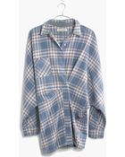 Madewell Rivet & Thread Flannel Tiltcatch Shirt In Hanna Plaid - Lyst