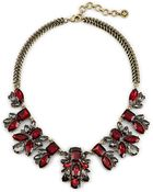 C. Wonder Stacked Jewels Drama Necklace - Lyst