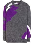 Miu Miu Wool-Blend Sweater - Lyst