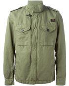 Fay Military Jacket - Lyst