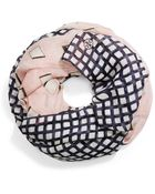 Tory Burch Mixed-Plaid Infinity Scarf - Lyst