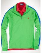 Polo Ralph Lauren Pima Cotton Half-Zip Shirt - Lyst