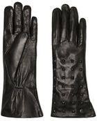 Vince Camuto Pyramid Studded Glove - Lyst