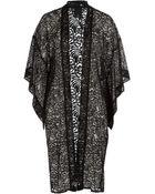 Anna Sui Embroidered Kimono - Lyst