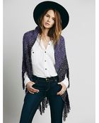 Free People Womens Ditch Plains Wrap - Lyst