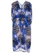 Zero + Maria Cornejo Blue Wren Ina Dress - Lyst