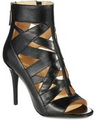 Nine West Leather Booties - Lyst