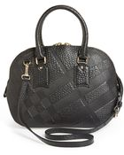 Burberry 'Small Heritage Orchard' Leather Satchel - Lyst