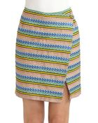 Band of Outsiders Wrap Skirt - Lyst