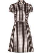 Tory Burch Wilda Cotton Dress - Lyst