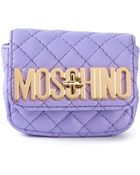 Moschino Mini Quilted Crossbody Bag - Lyst