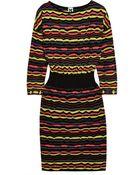 M Missoni Crochet-Knit Dress - Lyst