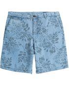 Closed Printed Bermuda Shorts - Lyst